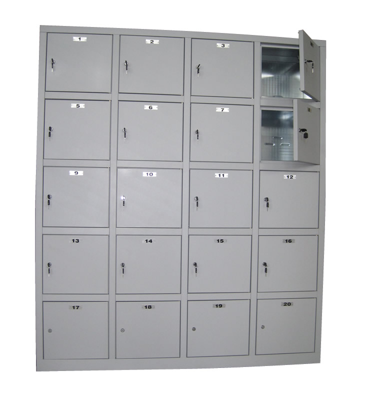 White Wood Filing Cabinet